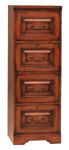 Country Cherry File Cabinet