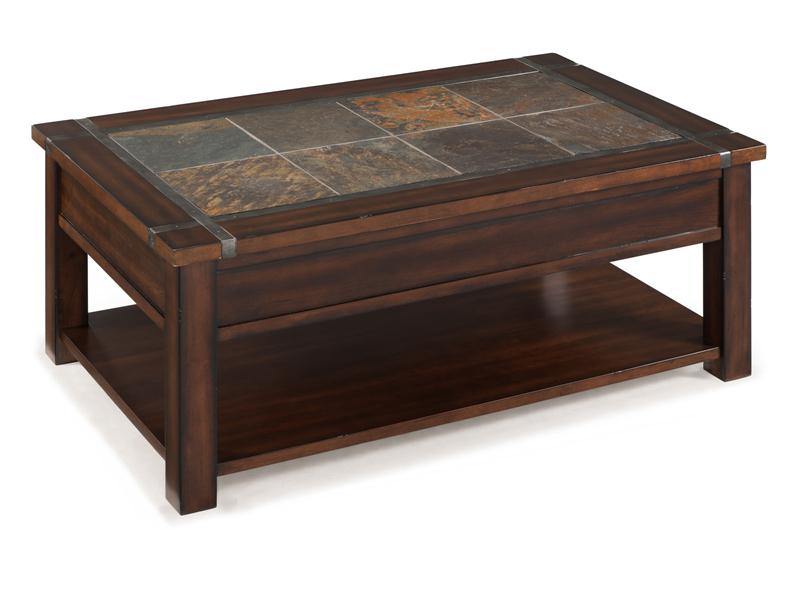 Roanoke Occasional Tables Underhillscom - Dining table with slate inlay